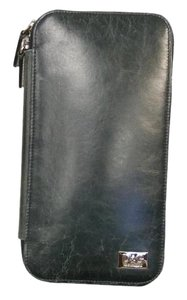 Dolce&Gabbana Dolce & Gabbana DG Distressed Leather Unisex Travel Long Wallet