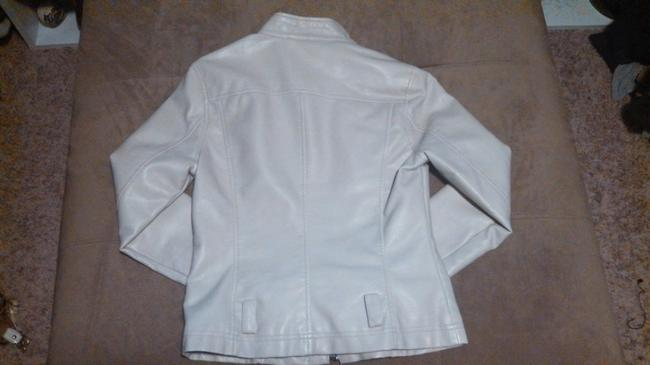 Express Faux Leather Leather Motorcycle Jacket