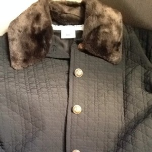 Dior Christian Jacket Fur Quilted Classic Coat