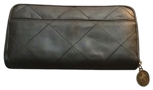 Lanvin lanvin quilted leather wallet $675 made in italy