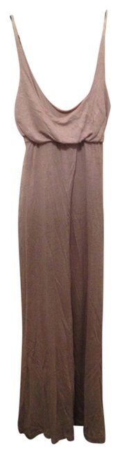 Tan Maxi Dress by Patterson J. Kincaid