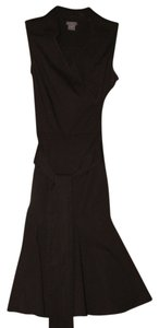 Ann Taylor short dress Dark Chocolate Shift A-line on Tradesy