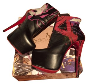 Christian Louboutin 20th Anniversary Black Multi Boots