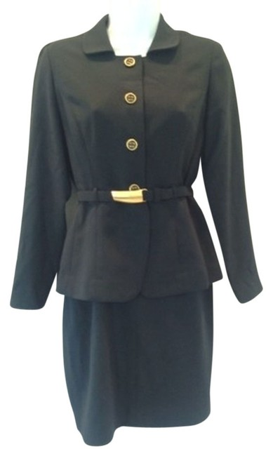 Ann Taylor Suit Gold Petite Dress