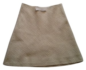 Trina Turk Tweed Skirt Ivory