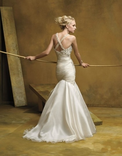 Coco Anais Ivory An138 Formal Wedding Dress Size 10 (M) Image 1
