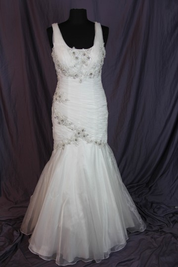 Coco Anais Ivory An138 Formal Wedding Dress Size 10 (M) Image 2