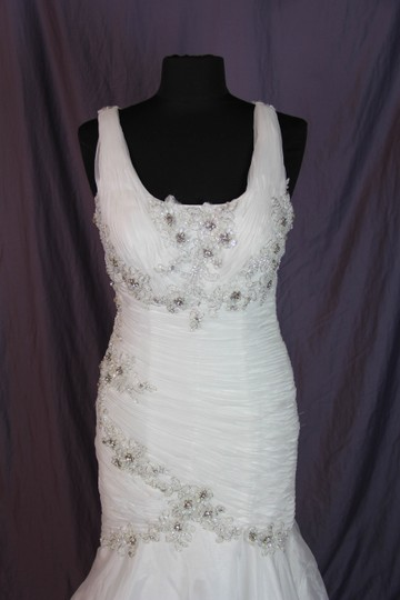 Coco Anais Ivory An138 Formal Wedding Dress Size 10 (M) Image 3
