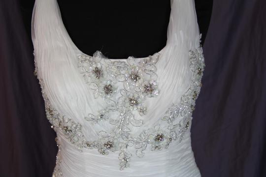Coco Anais Ivory An138 Formal Wedding Dress Size 10 (M) Image 4