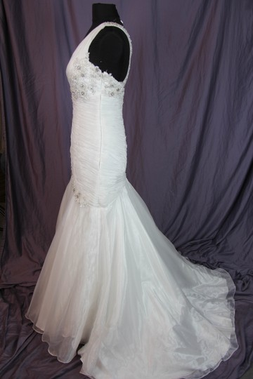 Coco Anais Ivory An138 Formal Wedding Dress Size 10 (M) Image 5