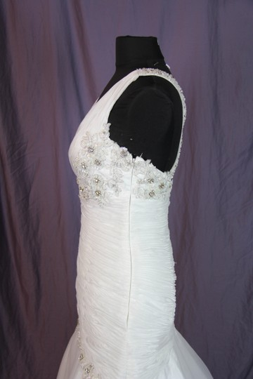 Coco Anais Ivory An138 Formal Wedding Dress Size 10 (M) Image 6