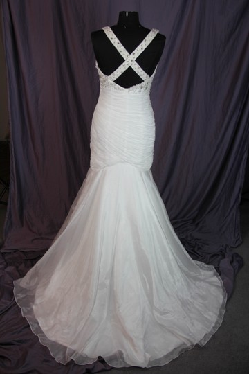 Coco Anais Ivory An138 Formal Wedding Dress Size 10 (M) Image 7