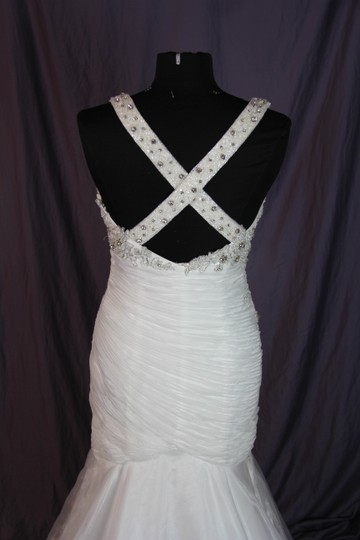 Coco Anais Ivory An138 Formal Wedding Dress Size 10 (M) Image 8