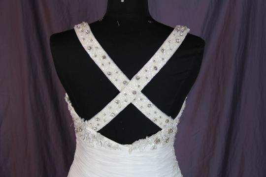 Coco Anais Ivory An138 Formal Wedding Dress Size 10 (M) Image 9