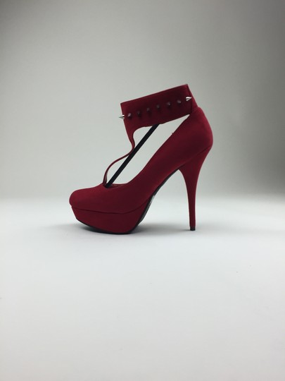Other Heels Red Pumps
