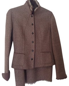 Elie Tahari Tahari Wool Skirt Suit