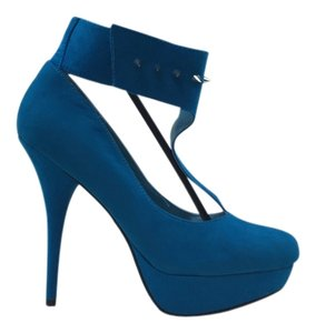 Other Heels Blue Turquoise Pumps