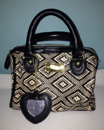 Steve Madden Tote in Black And Offwhite