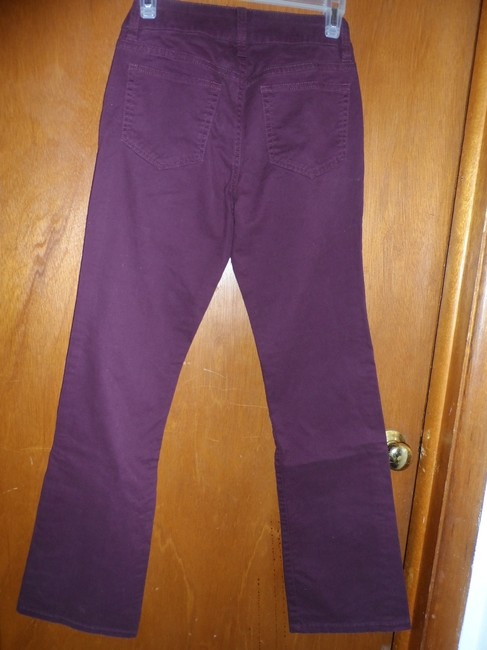 Victoria's Secret Boot Cut Pants purple