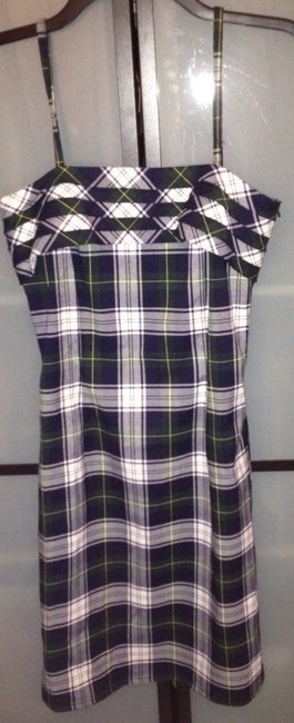 Tommy Hilfiger short dress Green, Black, White Jeans Jeans on Tradesy Image 1