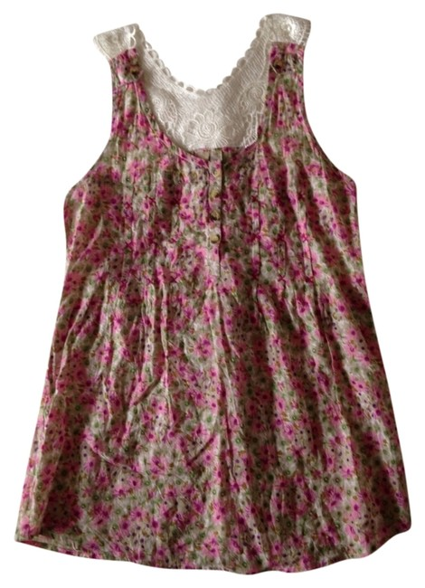 Preload https://item1.tradesy.com/images/pink-and-tan-tank-topcami-size-4-s-860545-0-0.jpg?width=400&height=650