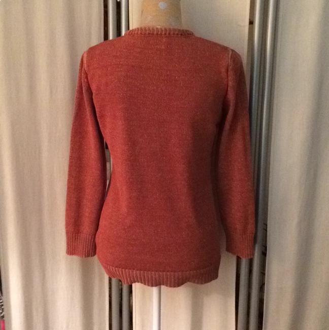 Elizabeth and James Textile Terracota Sweater Image 2