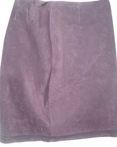 Purple Eggplant Plum Skirt