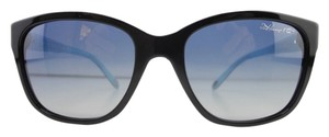 Tiffany & Co. New Tiffany & Co. Sunglasses TF4083 8001/4L Blue Acetate Gradient Black Full-Frame 56mm Italy