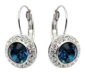 Other Fashion Shiny Full Austrian rhinestone Crystal dangle Earring, crystal earrings