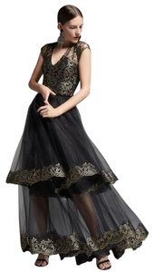 Sachin + Babi Formal Cocktail Evening Skirt Black
