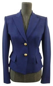 Emilio Pucci Emilio Pucci Blue Single Breasted Blazer