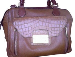 Michael Kors Satchel in Camel