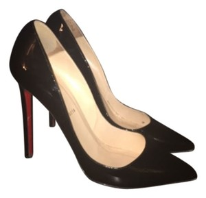 Christian Louboutin Black patent Pumps