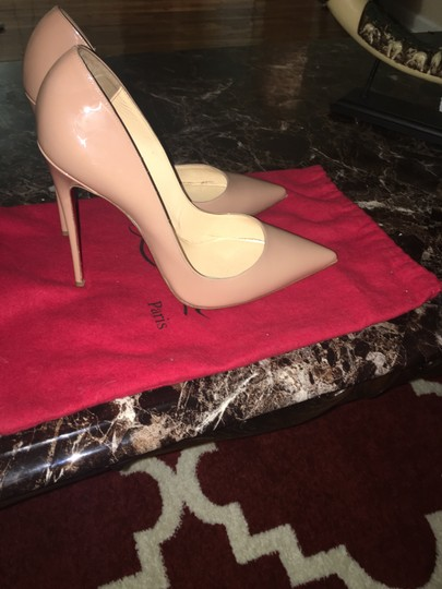 Christian Louboutin So Kate Louboutins Nude Pumps