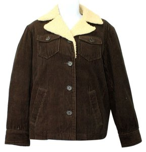 J.Crew Corduroy Cotton BROWN Jacket