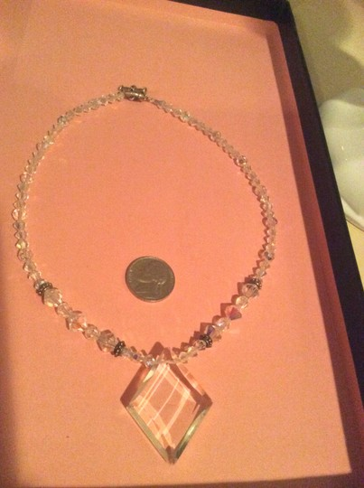 Swarovski Wedding Necklace Ab Crystal