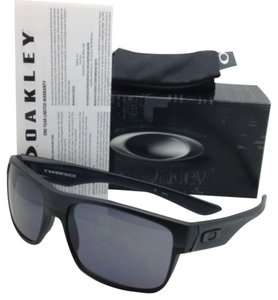Oakley New Oakley Sunglasses TWOFACE OO9189-05 60-16 Steel Frame w/Dark Grey