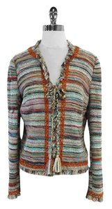 Tory Burch Abageil Multi Color Tweed Jacket