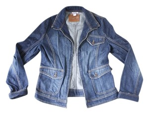 Max & Co. Co Denim Blue Womens Jean Jacket