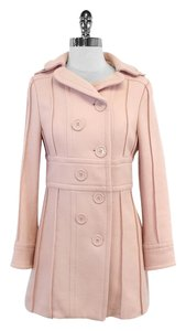 Marc Jacobs Light Pink Wool Double Breated Coat