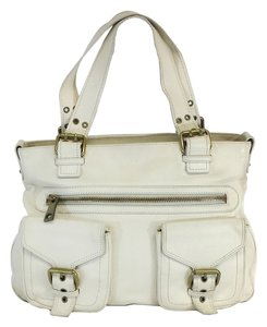 Marc Jacobs Limited Edition White Leather Tote
