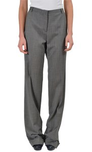 VIKTOR & ROLF Straight Pants Gray/Black/White