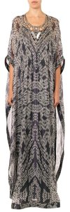 Maxi Dress by Diane von Furstenberg Silk Embellished Kaftan Maxi