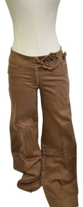 Lillie Rubin Straight Pants Gold / Brown