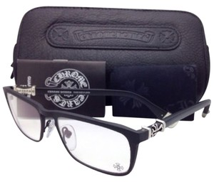 Chrome Hearts New CHROME HEARTS Eyeglasses MEAT WALLET MBK-P Matte Black Frame w/ Sterling Silver