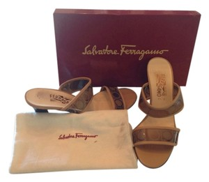 Salvatore Feragamo Leather Mules