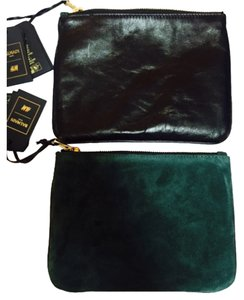 Balmain x H&M Green/black Clutch