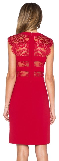 Item - Red Mid-length Cocktail Dress Size 2 (XS)