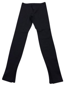 Vince Leggings Ankle Zippers Skinny Pants Black