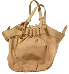 Loeffler Randall Luxury Classic Nude Gold Limited Edition Target Hobo Bag